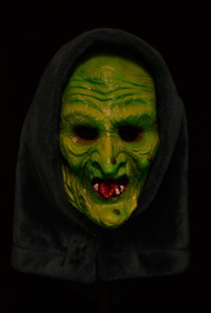 Front view of Halloween III Witch Mask