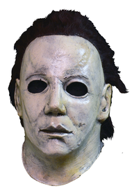 Front view of Michael Meyers mask