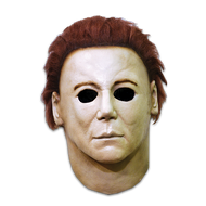 Front view of Michael Meyers Halloween H20 Mask