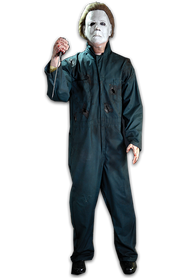 Life-size Michael Myers animated prop from Halloween II.