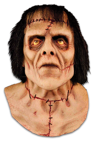 The Monster Latex Halloween Mask with Hair