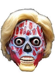 They Live Hillary Female Alien Deluxe Latex Mask with Hair Front
