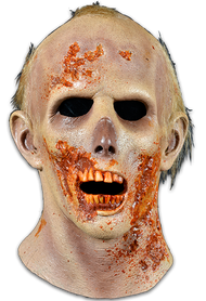 The RV Screwdriver Walker is a highly detailed Halloween mask sculpted by Neal Kennemore, the artist that sculpted a number of The Walking Dead Walkers for Universal Studios Halloween Horror Nights - The Walking Dead Maze, using hundreds of screen references. So get yourself the Officially Licensed The Walking Dead RV Screwdriver Walker Mask, our Walker Chest, and some torn up clothes and go out and stalk the living this Halloween!