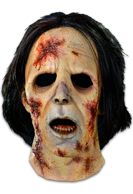 The Suit / Bus Walker is a highly detailed Halloween mask sculpted by Neal Kennemore, the artist that sculpted a number of The Walking Dead Walkers for Universal Studios Halloween Horror Nights - The Walking Dead Maze, using hundreds of screen references. So get yourself the Officially Licensed The Walking Dead Suit / Bus Walker Mask, our Walker Chest and some torn up clothes and go out and stalk the living this Halloween!
