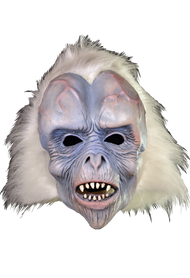 This awesome mask was sculpted by Bill Ystrom. We at Trick or Treat Studios are huge fans of classic masks and some of our favorites come from Chicago's own Zagone Studios. Back in the 80's, Zagone Studios was known as Be Something Studios and they introduced the world to the style masks we know today as the Zagone look. In the late 90's, Be Something Studios broke off from Franco and became Zagone Studios and, unfortunately, the Be Something Studios masks ceased to exist. But now thanks to a partnership between Trick or Treat Studios and Zagone Studios, the original Be Something Studios masks are back! Visitor From Space is one of three Classic Zagone Masks that we are raising from the dead. So make sure to take advantage of this amazing opportunity to get your hands on one of the classics that defined the style of masks we have today.
