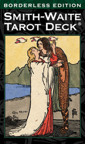 Pamela Colman Smith's beloved tarot artwork, created in 1909 under the direction of Arthur E. Waite, is now presented in a borderless format for a more immersive reading experience.