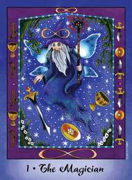 This original deck offers fresh interpretations of traditional tarot, with vibrant art blending fantasy, whimsy, and nature.