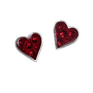 Heart's Blood Earrings