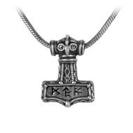 Bindrune Hammer Pendant