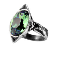 Absinthe Fairy Spirit Crystal Ring
