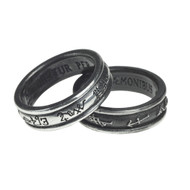Demon Black & Angel White Ring