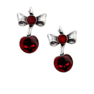 Black Cherry Earrings
