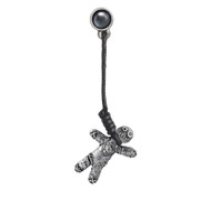 Voodoo Doll Earring