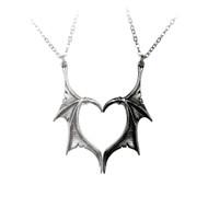 Darkling Heart Necklace
