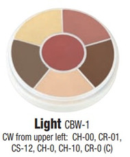 Light Contour Creme Wheel / 1oz/28gm