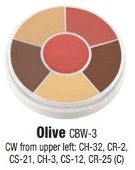 Olive Contour Creme Wheel / 1oz/28gm