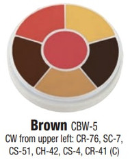 Brown Contour Creme Wheel / 1oz/28gm