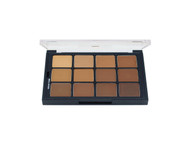 Studio Color Matte HD Olive-Brown Foundation Palette / .91oz/26gm.