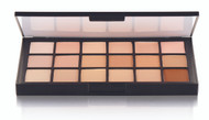 18 Color Diverse Harmony Matte HD Foundation Palette / 2.4oz./69gm.