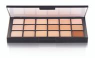 18 Color Fair Matte HD Foundation Palette / 2.4oz./69gm.