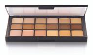 18 Color Global Matte HD Foundation Palette / 2.4oz./69gm., 18 Colors