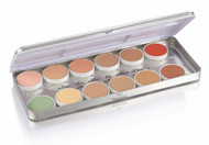 Metal Concealer Refillable 1.8oz./51gm., 12 Colors