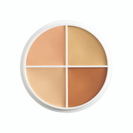 4 Color Total Tattoo Cover-All Concealer Wheel/ .5oz./14gm.