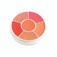 MediaPro 6 Color Creme Rouge Wheel / 1oz./28gm., 6 Colors