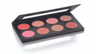 8 Color Fashion Rouge Blush Palette / .98oz./28gm.