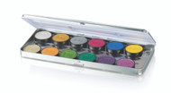 12 Color Lumière Grande Colour Metal Palette / 1.5oz./43.2gm.