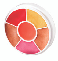 6 Color Lip Gloss Wheel / .92oz./26gm.
