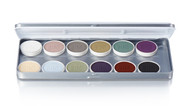12 Color Creature Magicake Aqua Color Refillable Palette / 1.69oz./48gm.