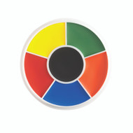 6 Color Rainbow Creme Character Wheel