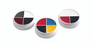 Red White & Black Character Makeup Wheel / .5oz./14gm.