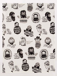 Awesome Fucking Beard Dish Towel
