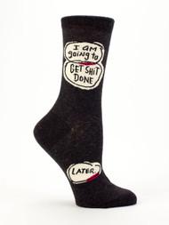 Get Shit Done Crew Socks