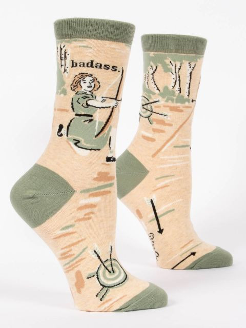 Badass- Archer Crew Socks