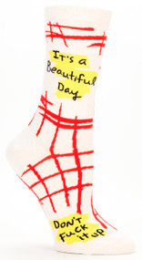 Beautiful Day Crew Socks