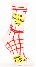 Beautiful Day Crew Socks