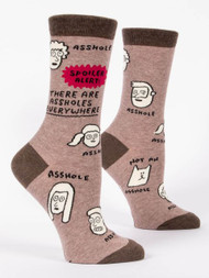 Assholes Everywhere Crew Socks