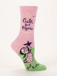 Cute. But Psycho. Crew Socks