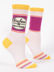 Duchess of Sassytown Crew Socks