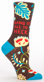 Dang It All to Heck Crew Socks