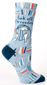 Fuck Off, I'm Reading Crew Sock