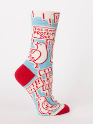 This Is My Protest Sock Crew Sock