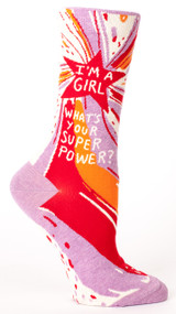 Superpower Crew Sock