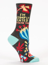 I'm Complicated. Thank You. Sock