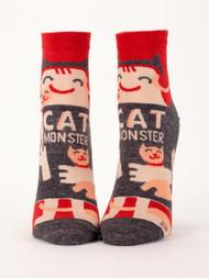 Cat Monster Ankle Socks