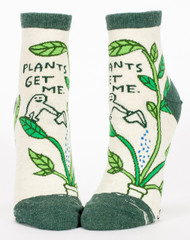 Plants Get Me Ankle Socks