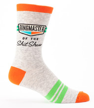 Ringmaster Shit Show Men's Socks